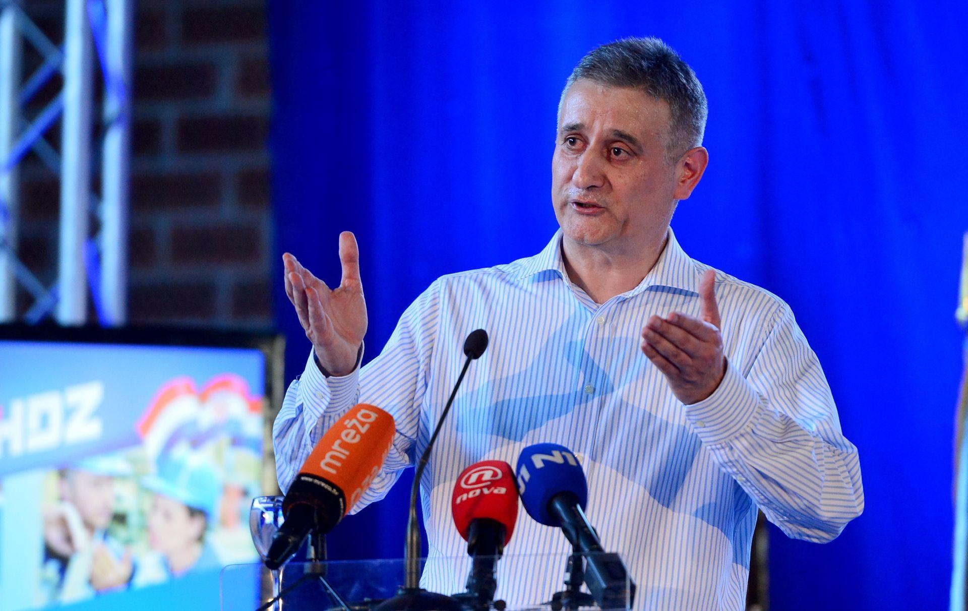 Karamarko: Pozivam sve da kampanja bude normalna i čista