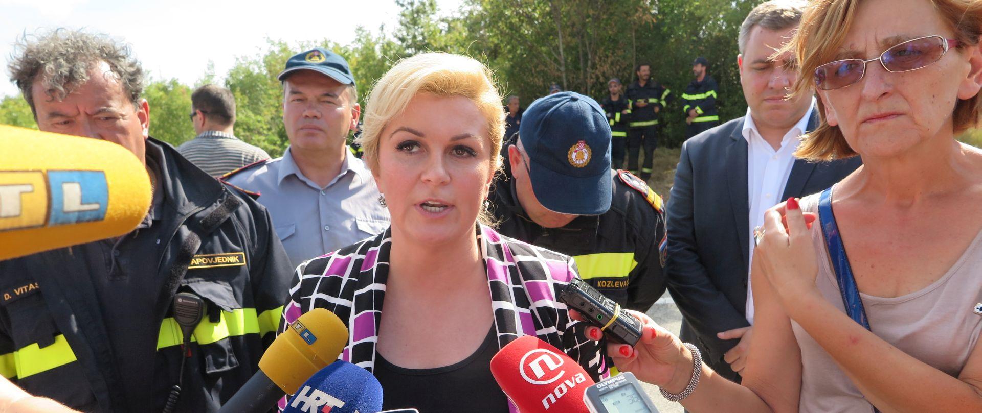 Grabar-Kitarović: Odluka o slučaju arbitraža u okviru nacionalnog konsenzusa