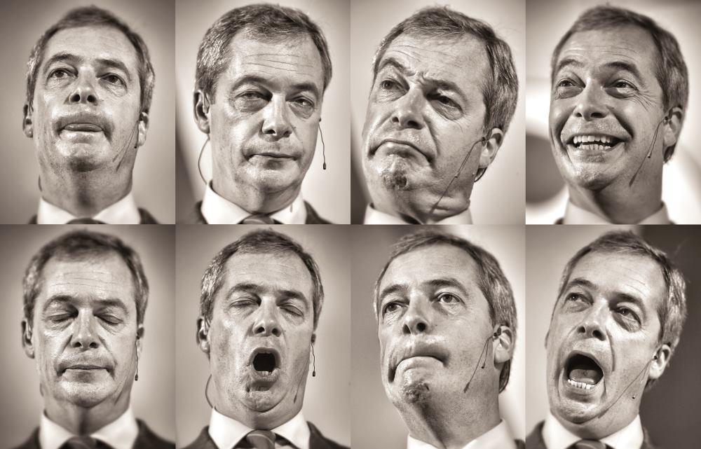 NIGEL FARAGE NE VJERUJE DA ĆE DAVID CAMERON 2017. RASPISATI REFERENDUM O IZLASKU VELIKE BRITANIJE IZ EU  FOTO: Christopher Furlong/Getty Images