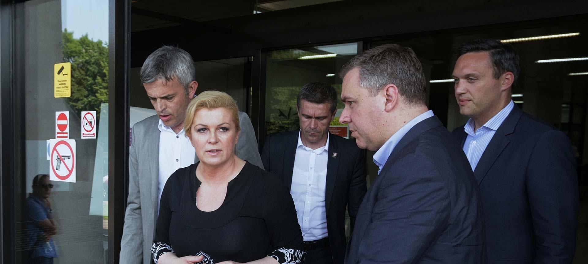PREKORAČENJE OVLASTI Predsjednica upadom u ured ministra sablaznila i HDZ-ovce