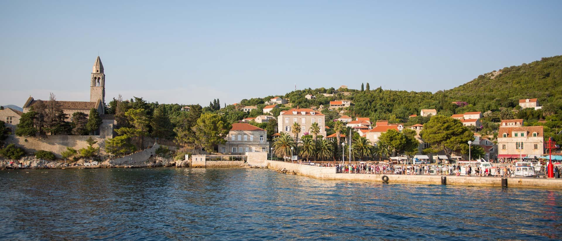 Lopud: Brojni turisti istažuju tajanstvene otoke u blizini Dubrovnika
