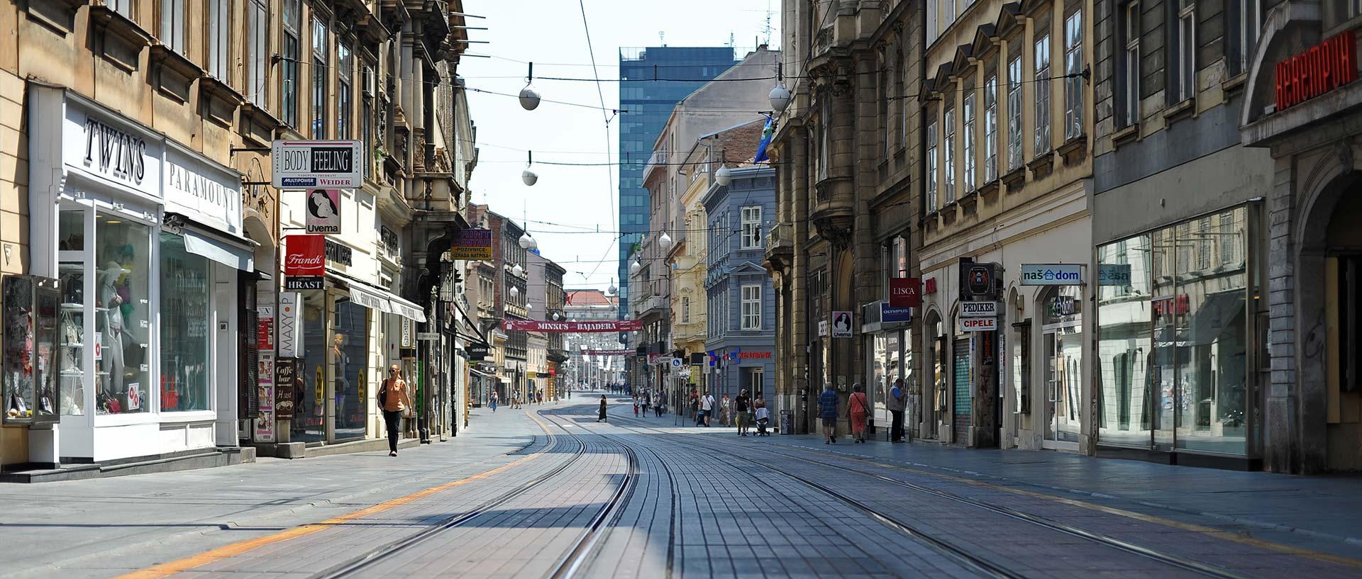 Vrućina ispraznila zagrebačke ulice