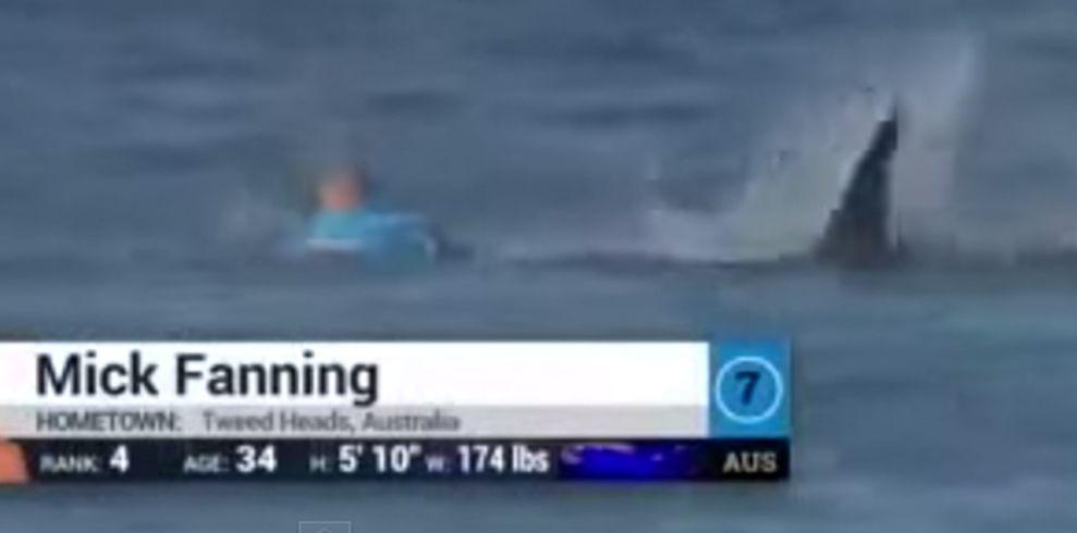 VIDEO: Svjetskog prvaka u surfanju tijekom natjecanja napao morski pas!