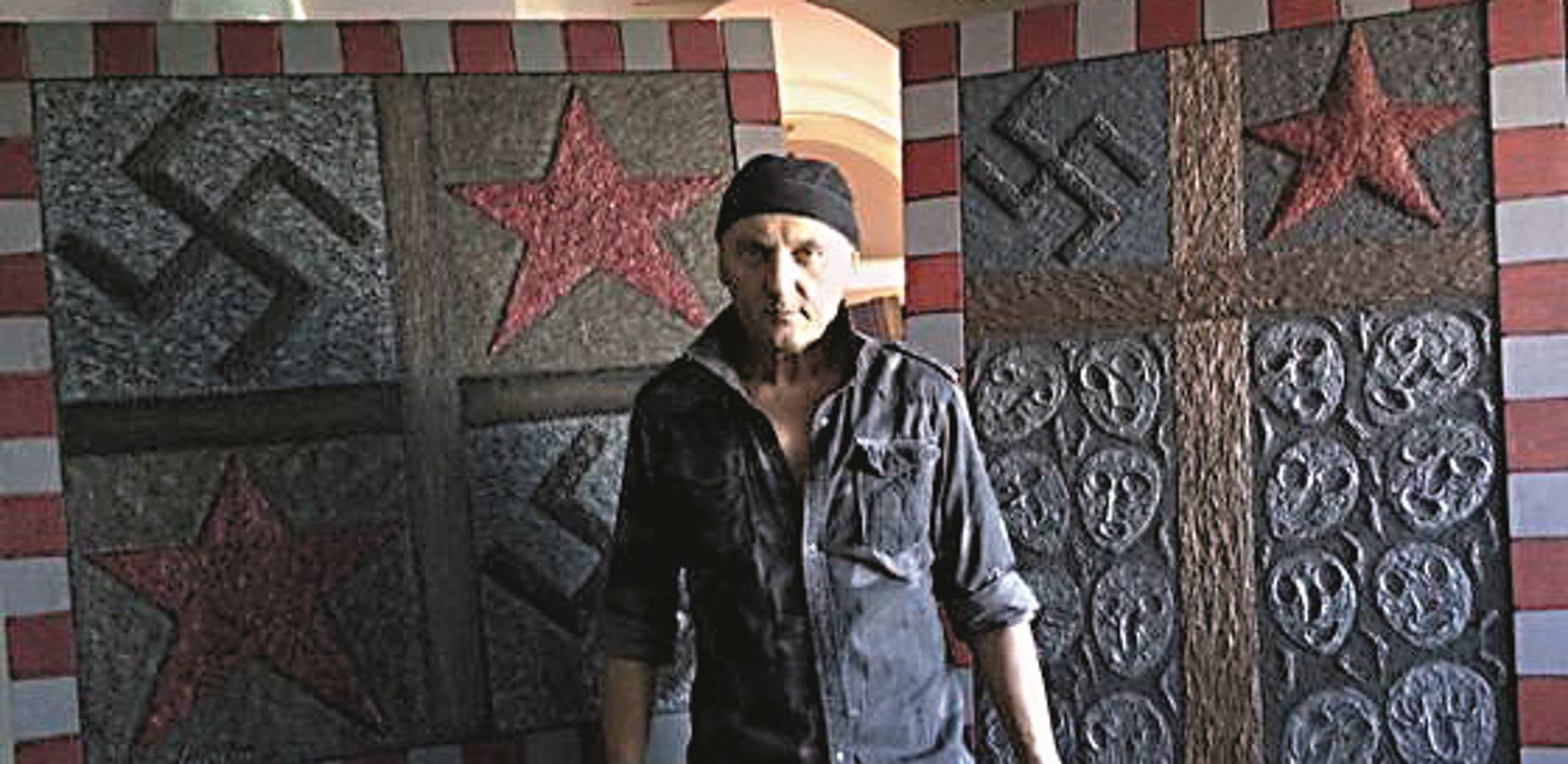 STEPHAN LUPINO 'Zvijezda petokraka i svastika hrvatska su stvarnost'