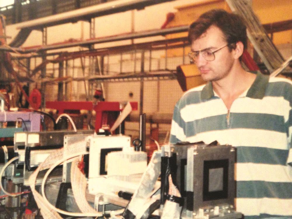 KAO MLADI ZNANSTVENIK U CERN-u FOTO: Privatna arhiva