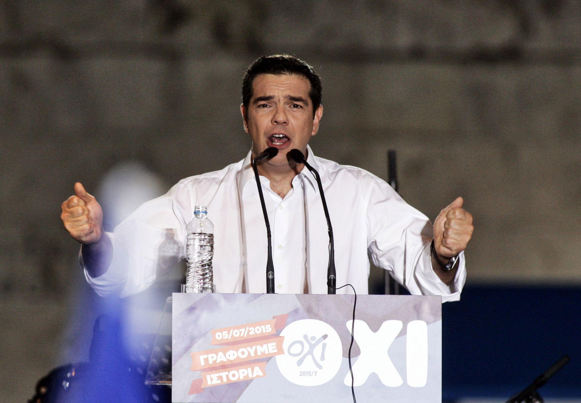 IZBJEGLIČKA KRIZA: Grčkog premijera sram što je dio europskog vodstva