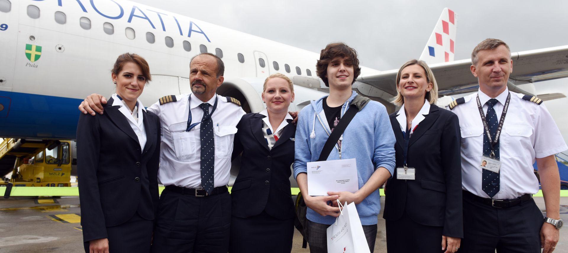 DVA DANA RANIJE NEGO LANI: Milijunti ovogodišnji putnik Croatia Airlinesa