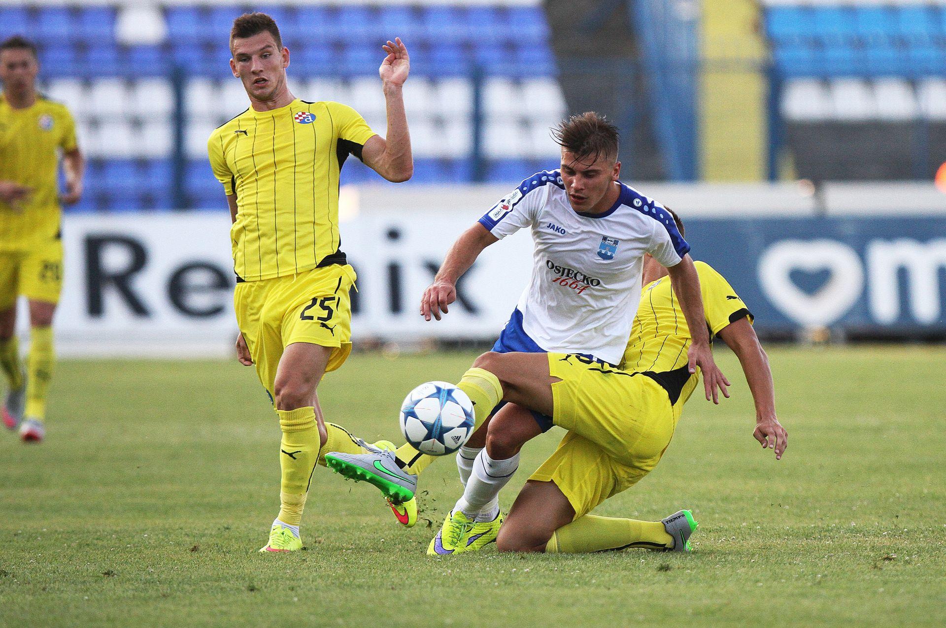 Prva HNL – Osijek na prvom mjestu, Dinamo bez pobjede