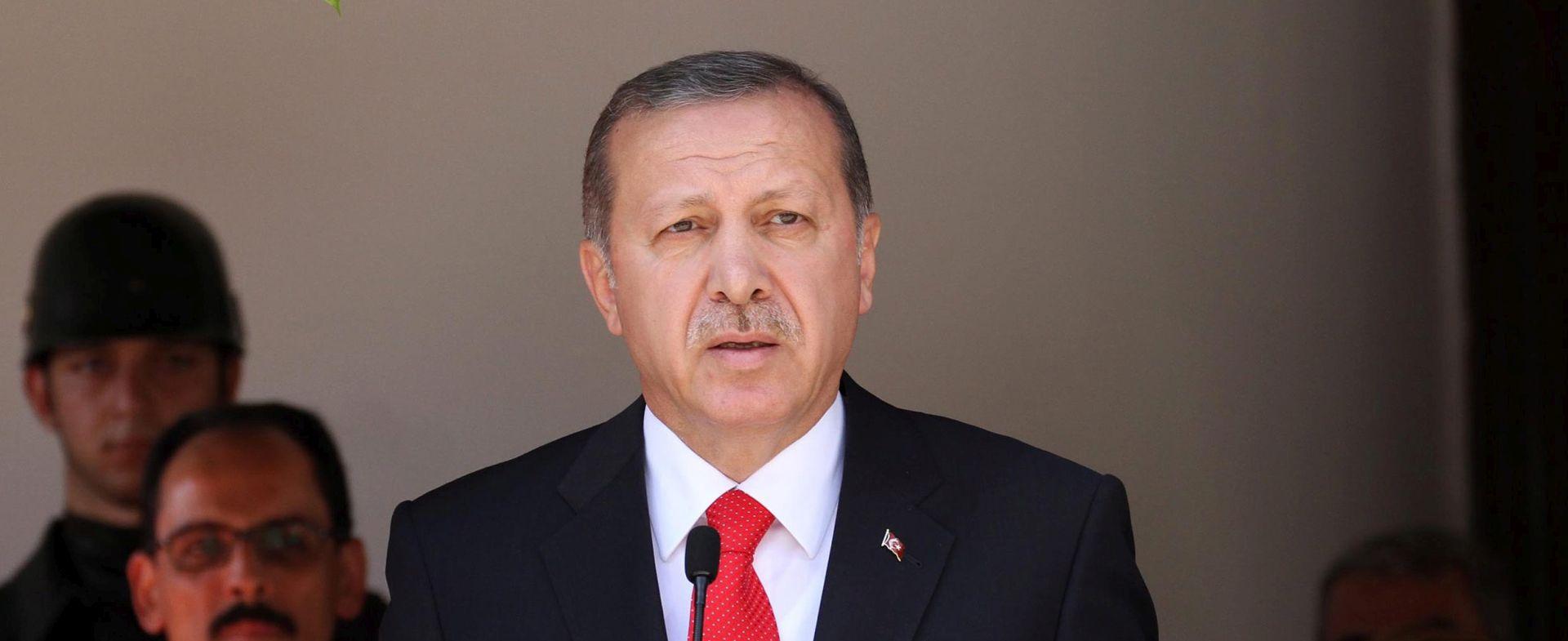 JAČANJE ODNOSA: Erdogan razgovarao s Putinom o Bliskom istoku