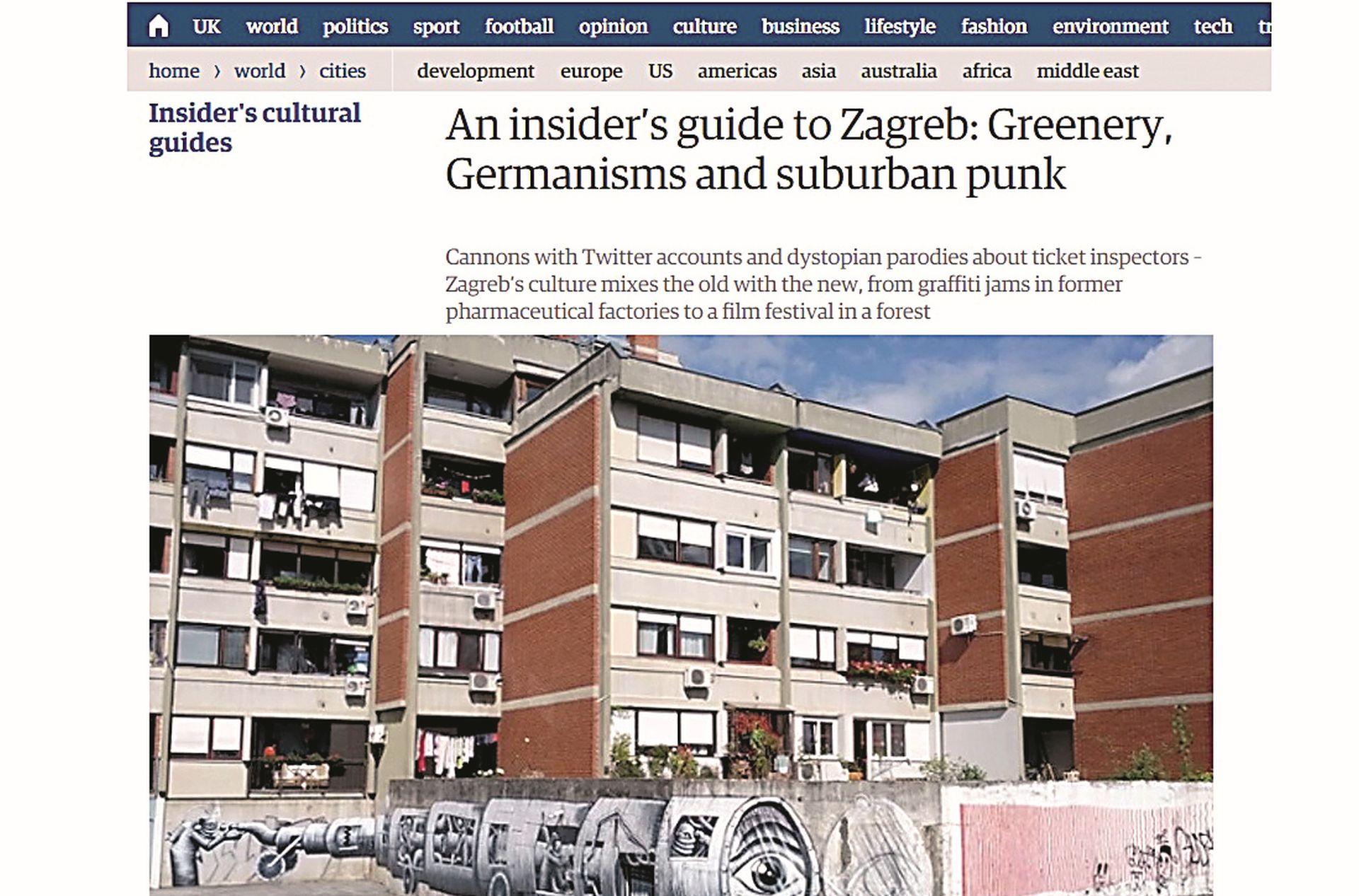 Kolumnist Nacionala završio na stranicama uglednog Guardiana