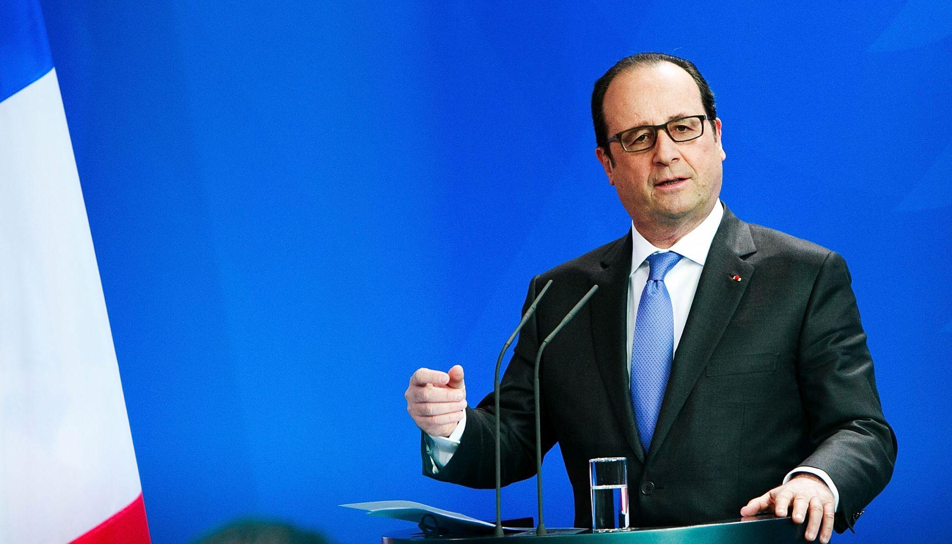 UVJETI PROVEDBE NUKLEARNOG PROGRAMA Hollande se sastao s Rohanijem