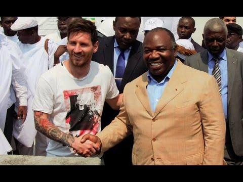 VIDEO: Messiju 3,5 milijuna eura za posjet Gabonu