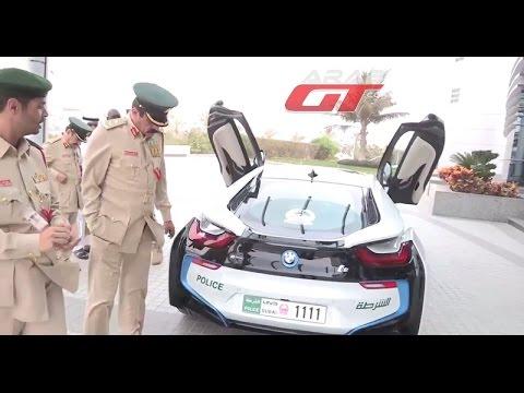 Policija u Dubaiju vozi se u novom BMW i8
