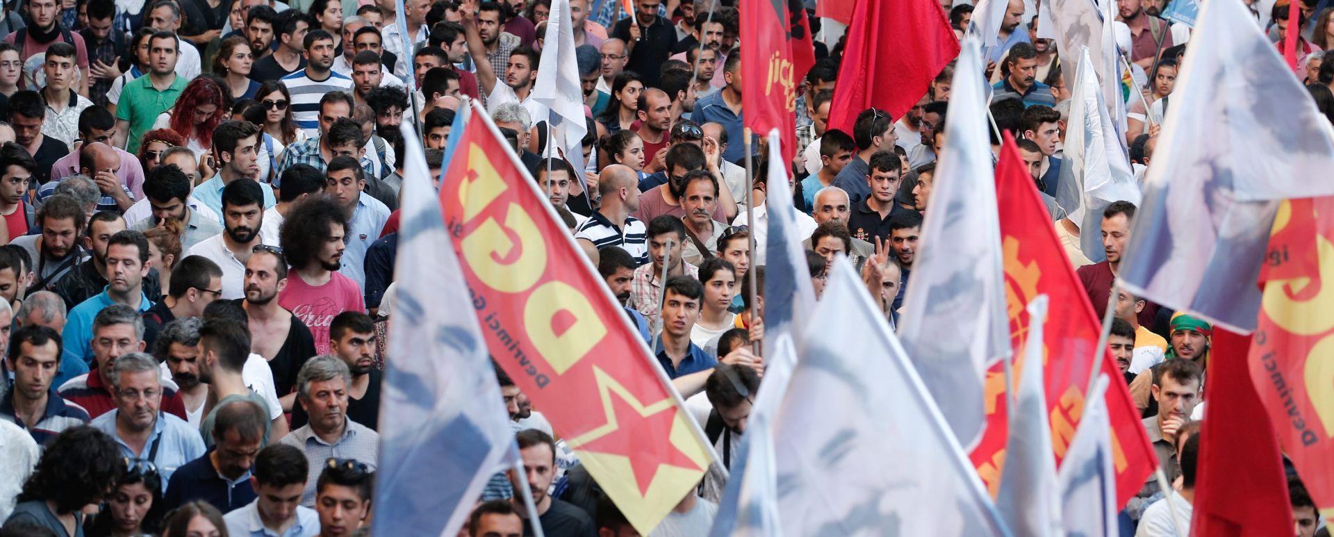 NAKON BOMBAŠKOG NAPADA: Policija u Istanbulu rastjerala stotine prosvjednika