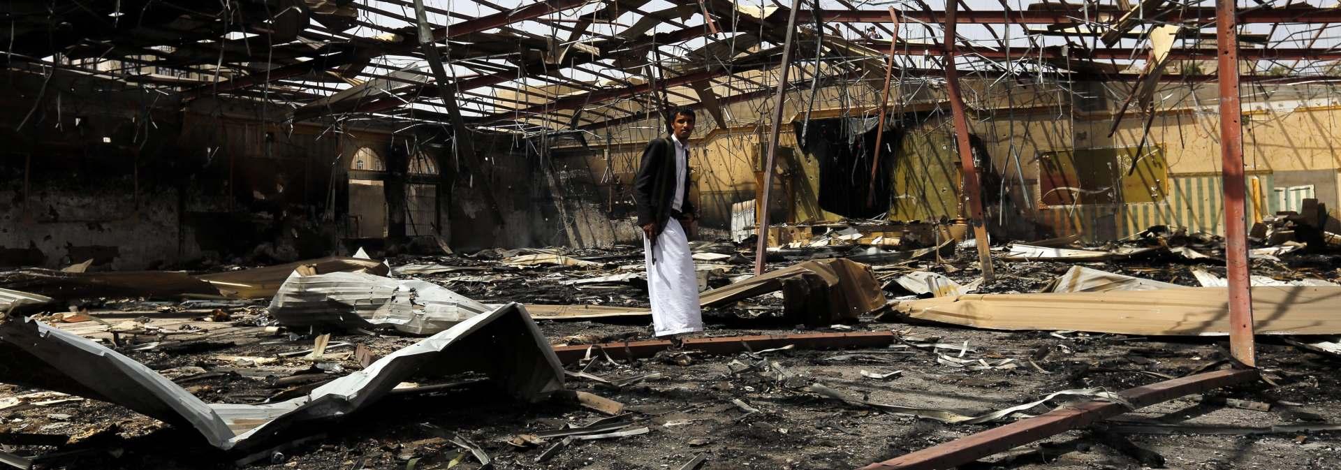 Najmanje 60 mrtvih u koalicijskim napadima na zatvoru u Jemenu