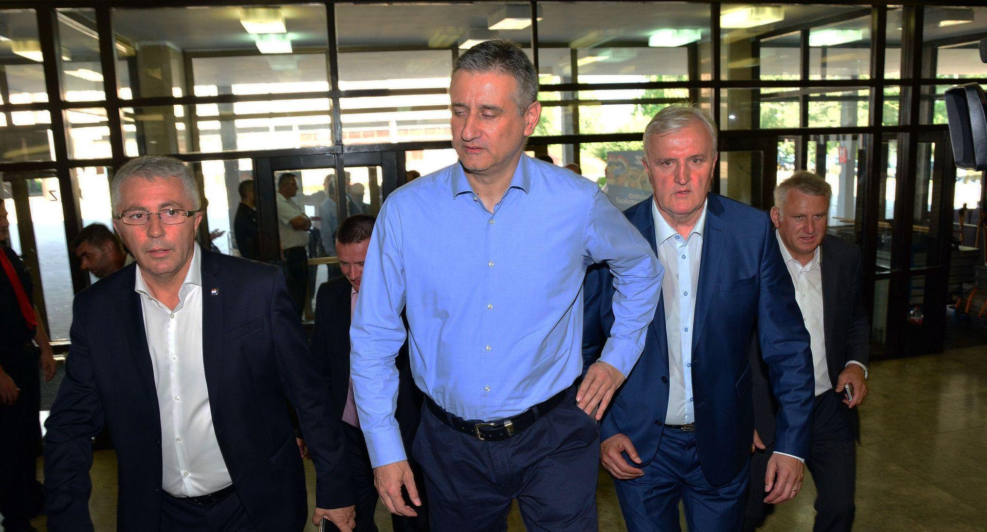 ZAJEDNIČKO RJEŠAVANJE PROBLEMA Karamarko dolazi na premijerov sastanak o arbitraži