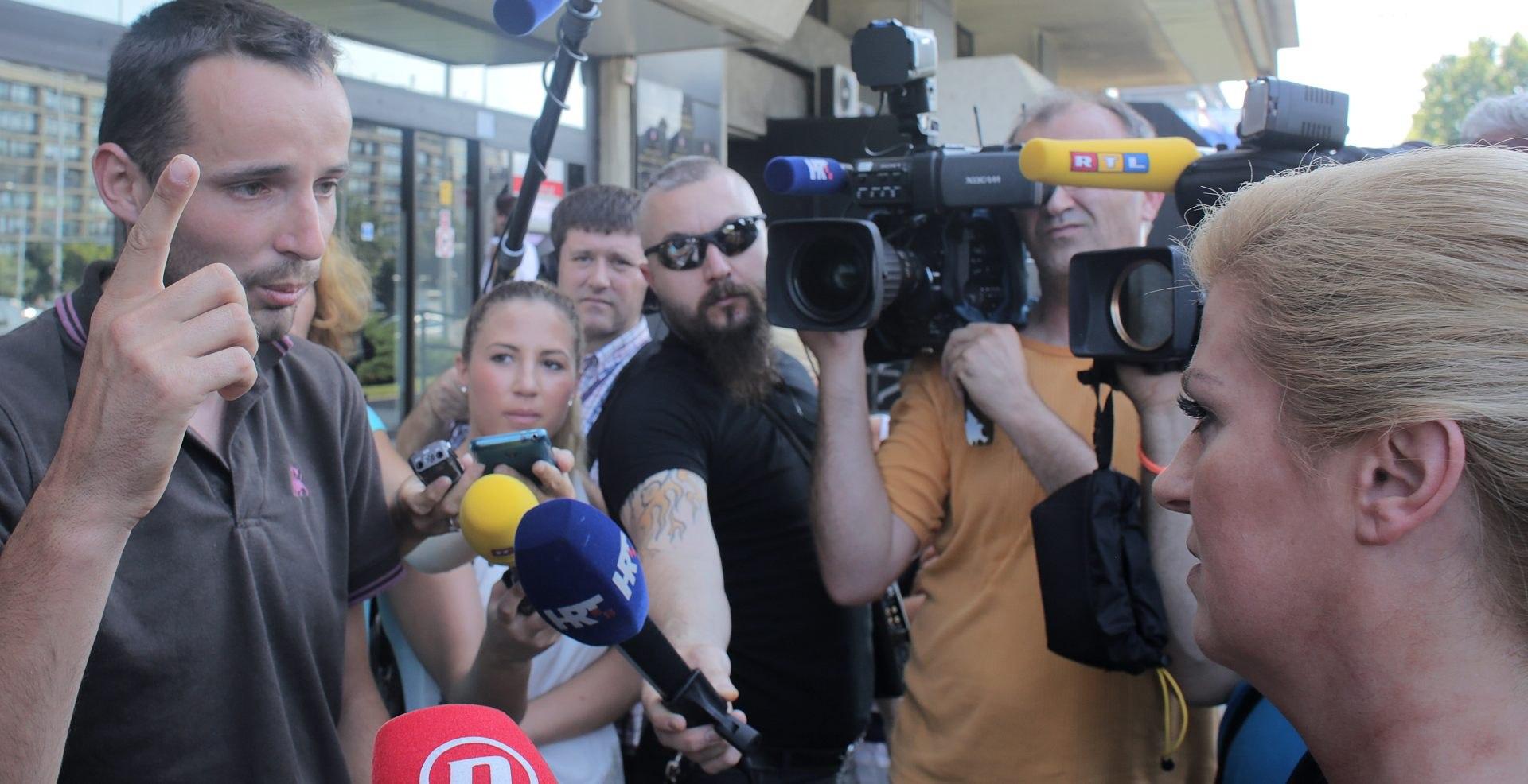 ISPRED MINISTARSTVA POLJOPRIVREDE:Kolinda pozvala braću Markić da prekinu štrajk glađu
