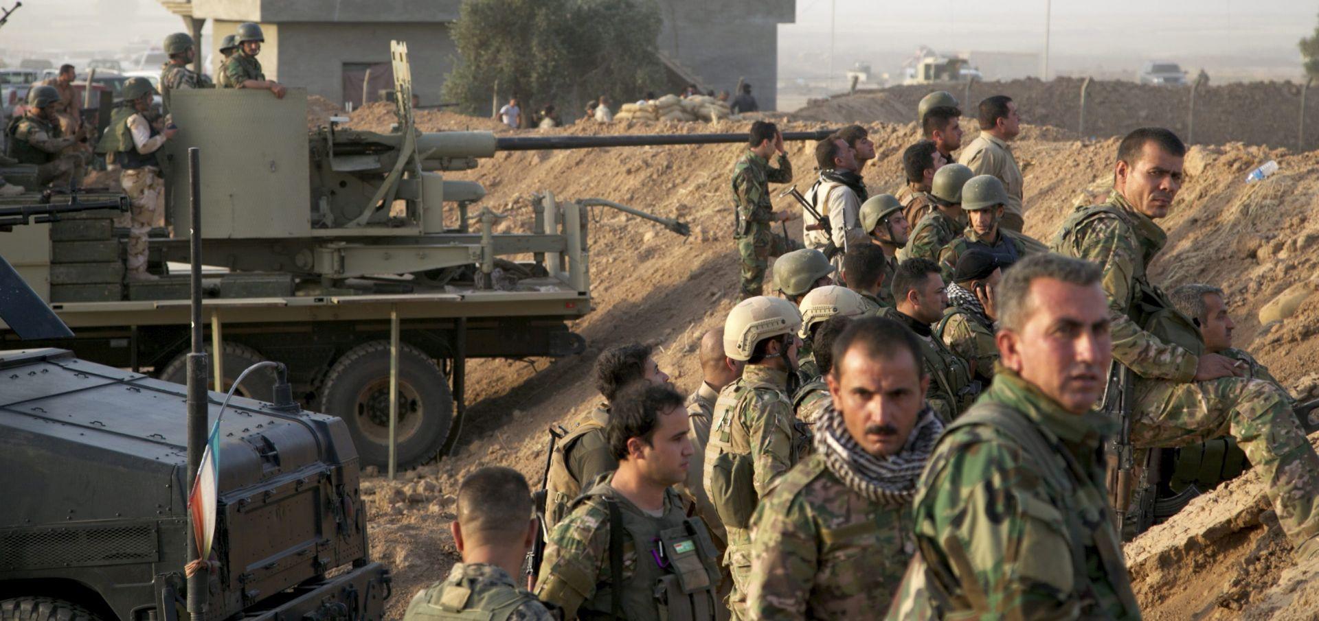 POKUŠAJ NAPADA: Irački Kurdi tvrde da su uhvatili dječaka s eksplozivom