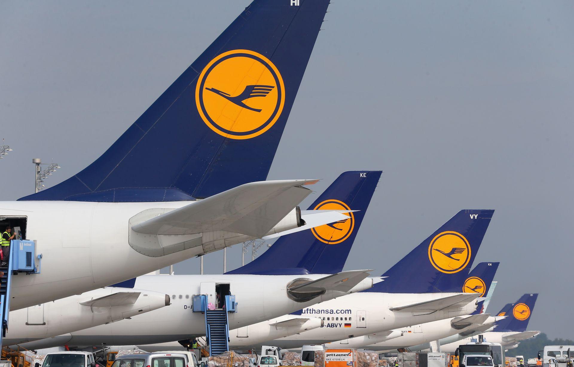 NASTAVAK ŠTRAJKA: Treći dan Lufthansa otkazala više od 800 letova