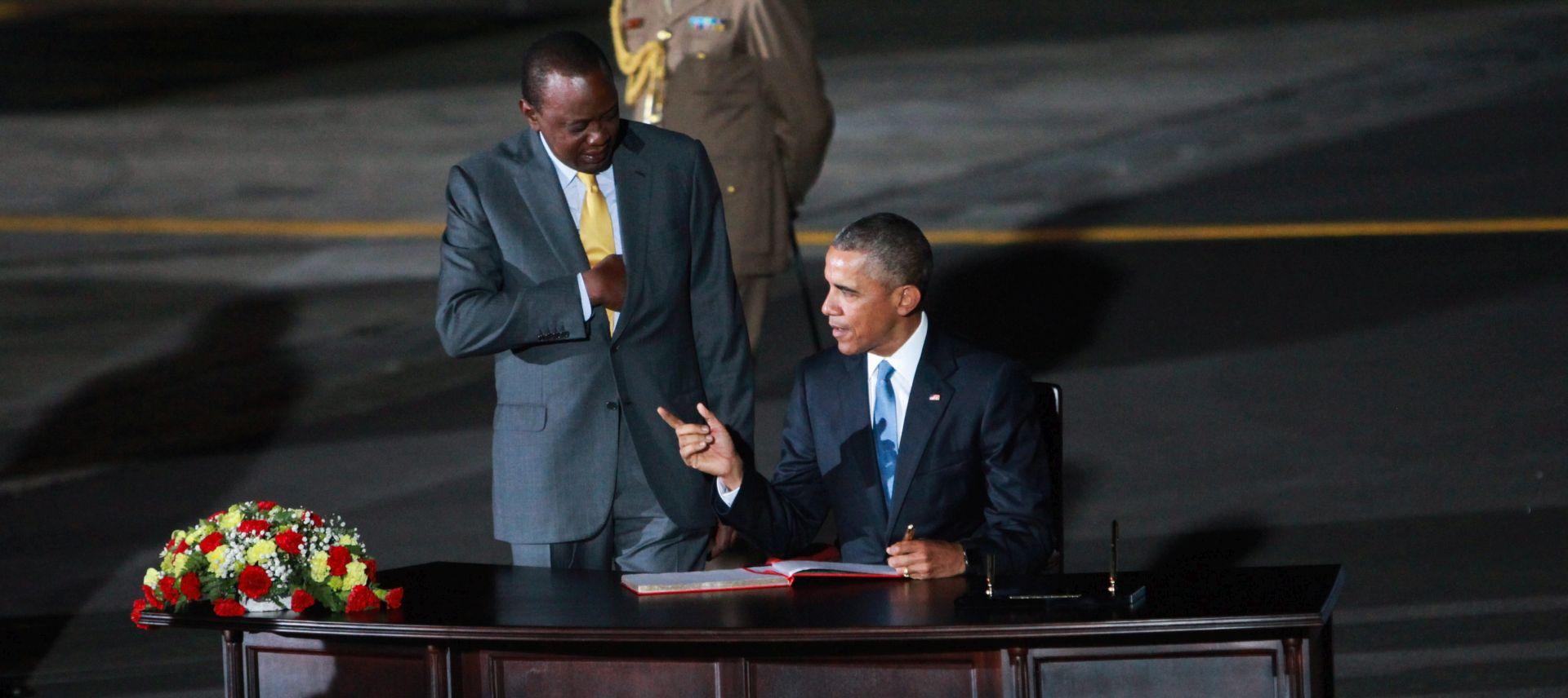 POSJET DJEDOVINI: Barrack Obama u prvom službenom posjetu Keniji