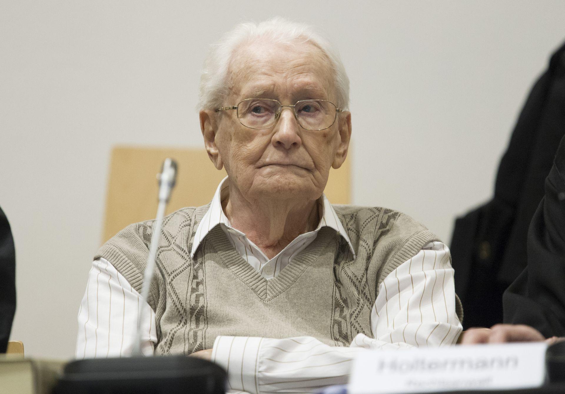 """SUUČESNIK U UBOJSTVU 300.000 LJUDI """"Računovođi iz Auschwitza"""" četiri godine zatvora"""