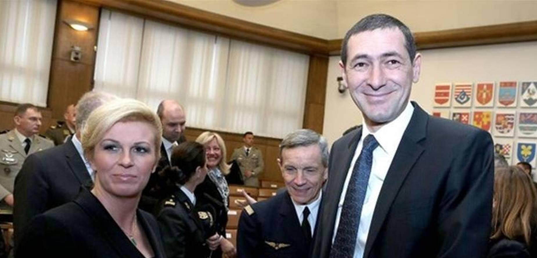 Zajednička večera predsjednice i ministra obrane