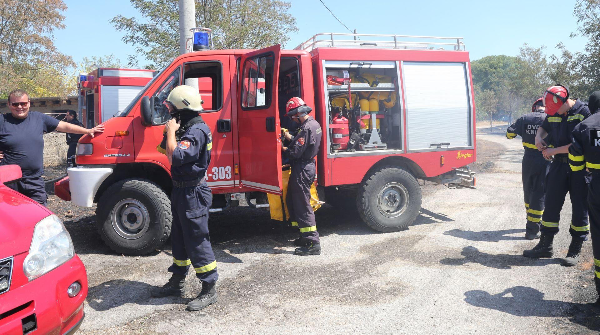 GORI IZNAD SPLITA Dva požara zahvatila 370 hektara površine