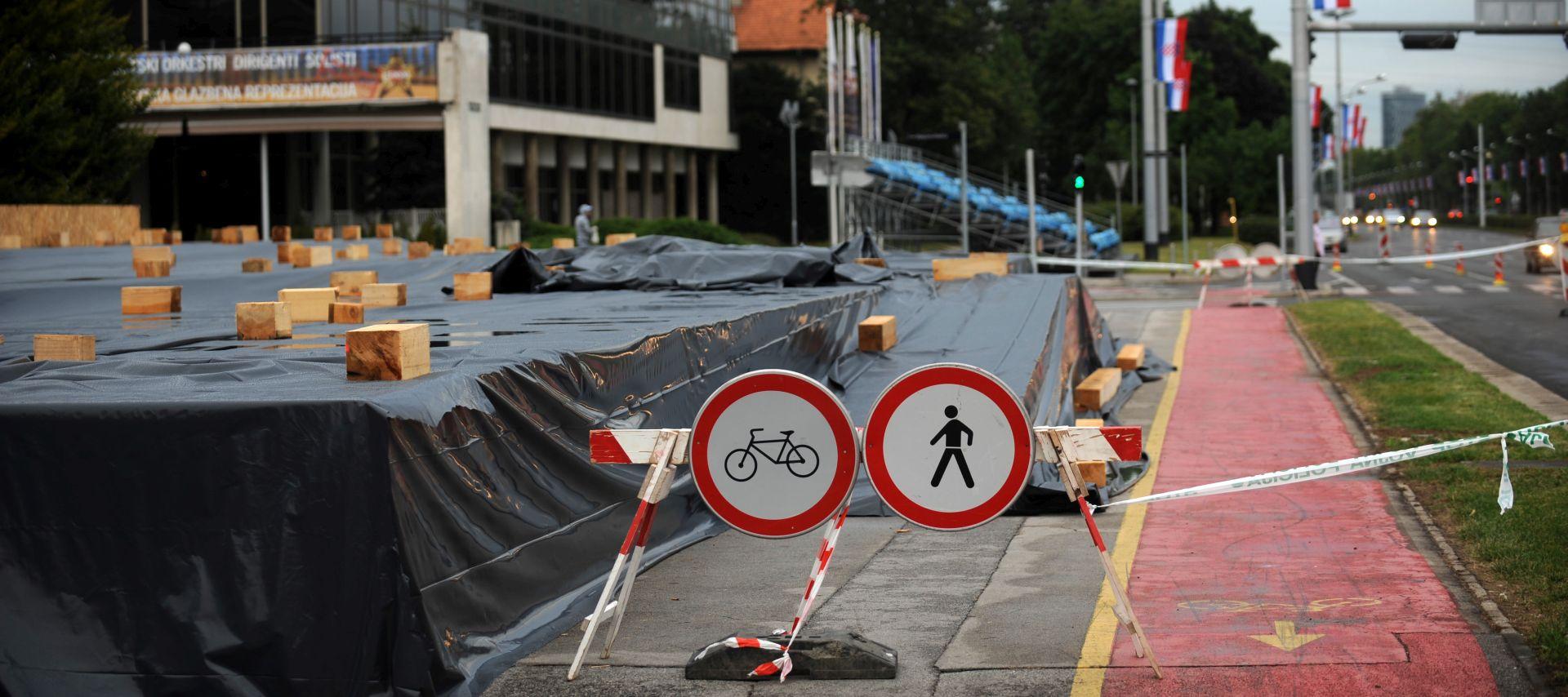 POSEBNA REGULACIJA PROMETA: Promet prema jugu Zagreba se obustavlja iza 13 sati