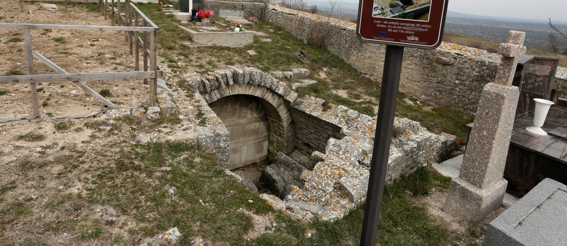 Vinkovci: dio rimskog foruma za budući izgled parka