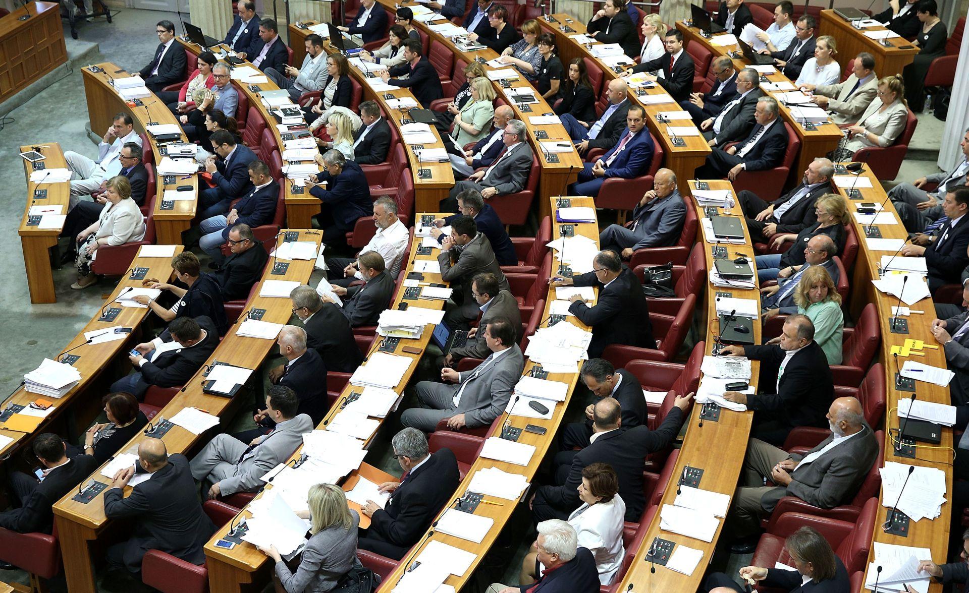Sabor u utorak raspravlja o proračunu za ovu godinu