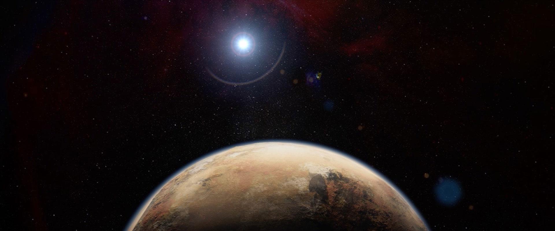 Nakon ledenih planina, otkrivene i Plutonove ledene doline