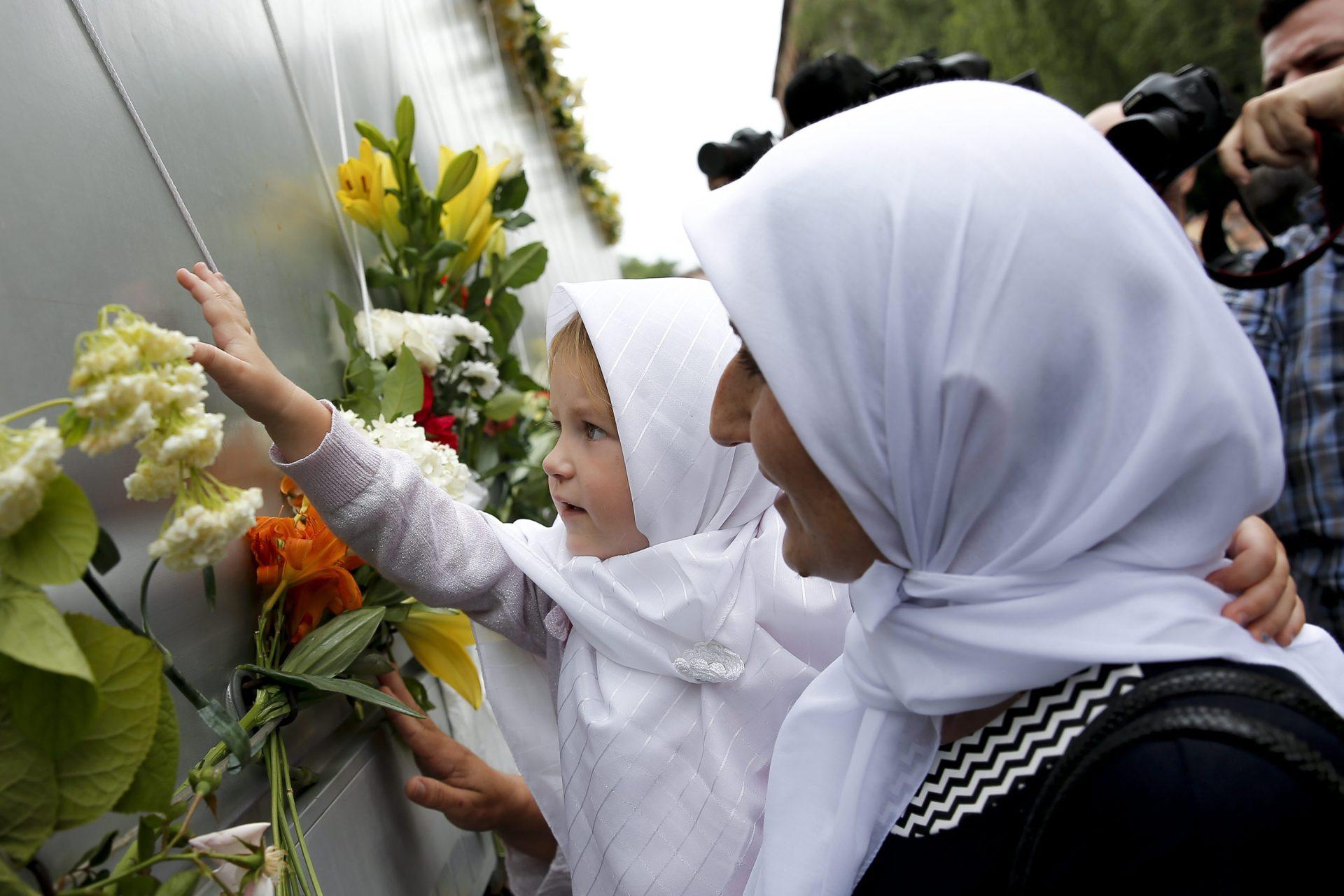 """Sudionici """"Marša mira"""" obilježavaju obljetnicu genocida u Srebrenici"""