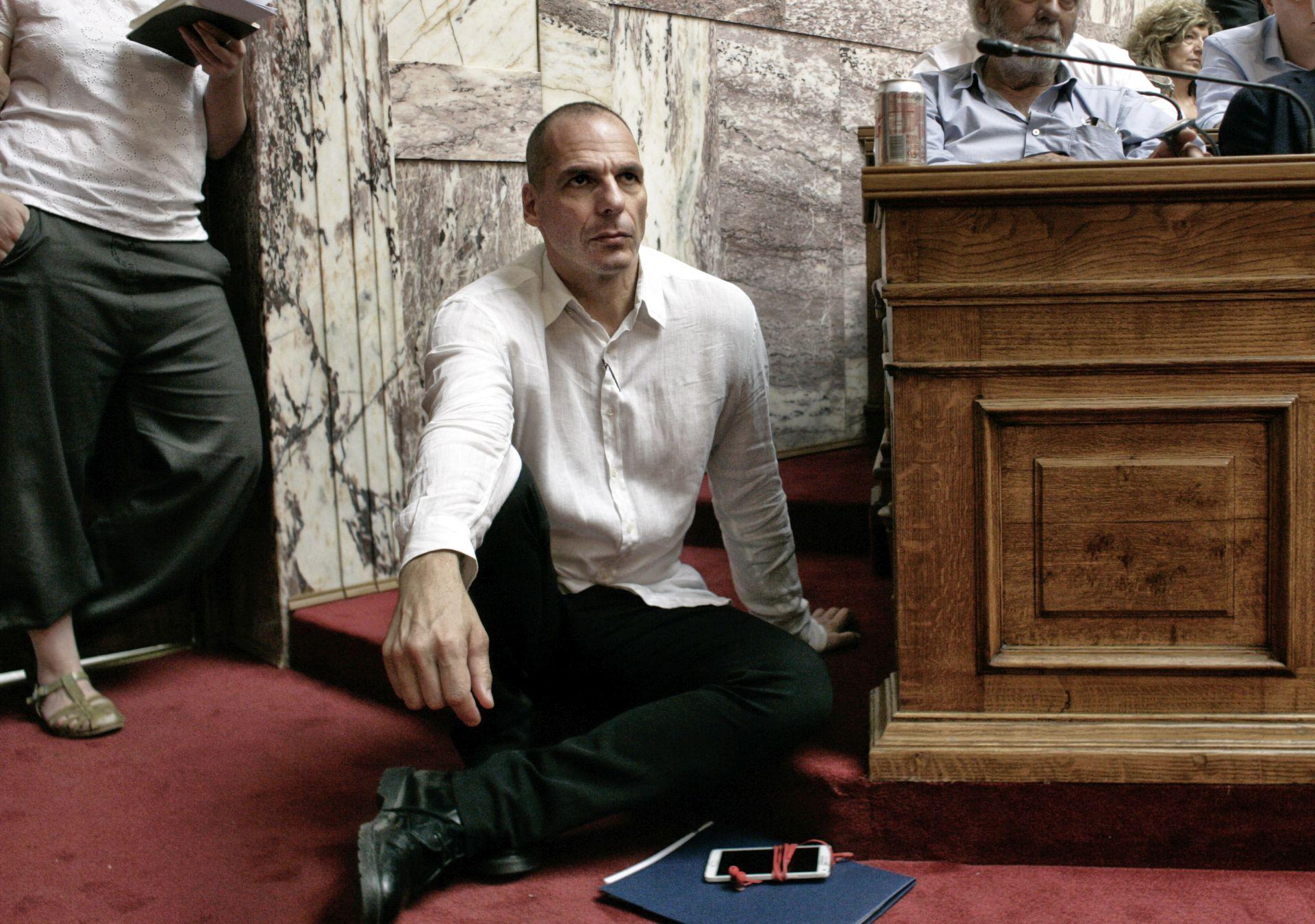 BIVŠI MINISTAR FINANCIJA PREDVIĐA KATASTROFU Varufakis: Gospodarske reforme u Grčkoj će propasti