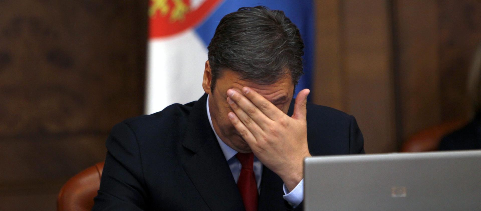 POLITIČKI SUKOBI Vučić: Strahujem zbog situacije u BiH i regionalne nestabilnosti