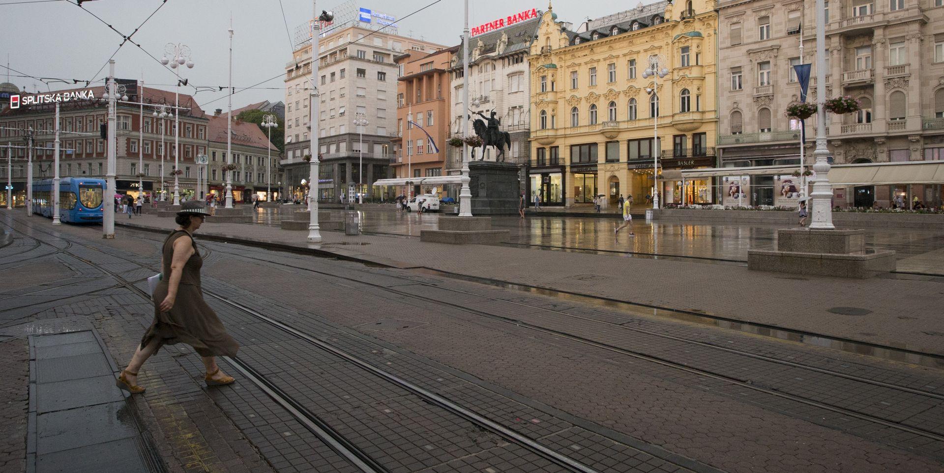 GLAVNI HRVATSKI GRAD Kako to izgleda centar Zagreba iz zraka
