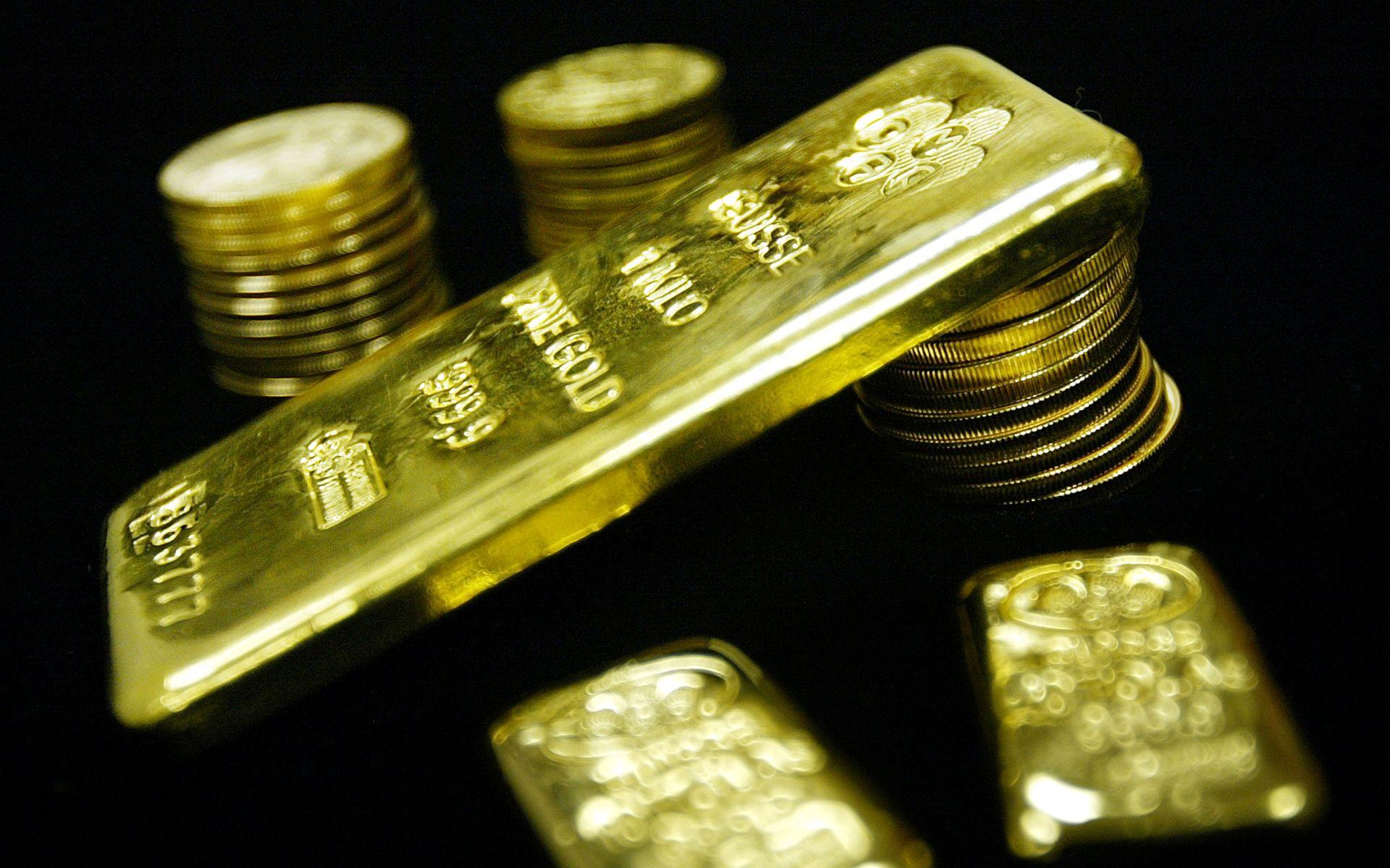 POD PRITISKOM TRŽIŠTA Cijena zlata pala ispod 1.100 dolara, prvi puta od 2010.