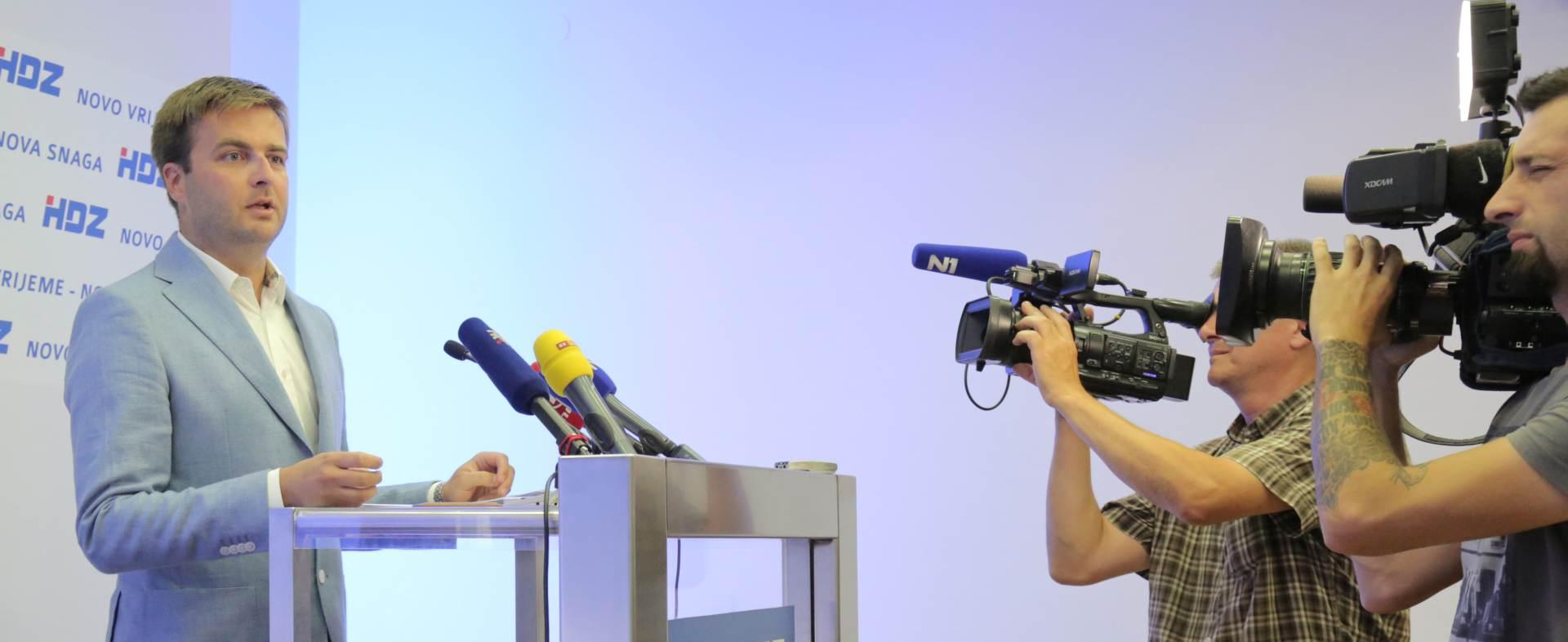 HDZ: Provedba iste ekonomske politike Hrvatsku ekonomski udaljava od Europe