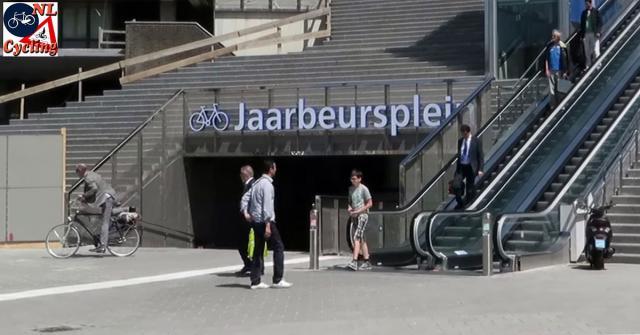 Ulaz u garažu za bicikle u Utrehtu