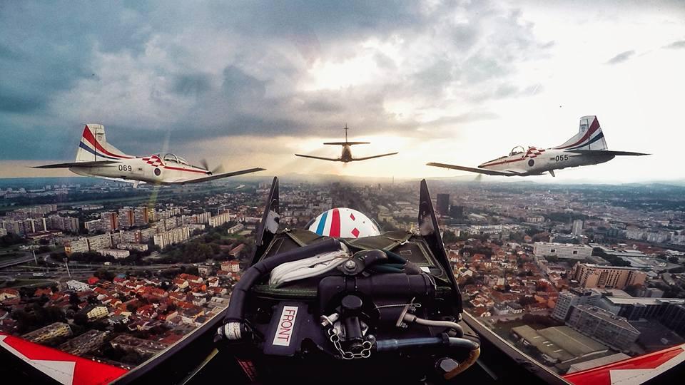"""FOTO: PRIPREME ZA MIMOHOD """"Krila Oluje"""" objavila fantastične prizore iz zraka"""