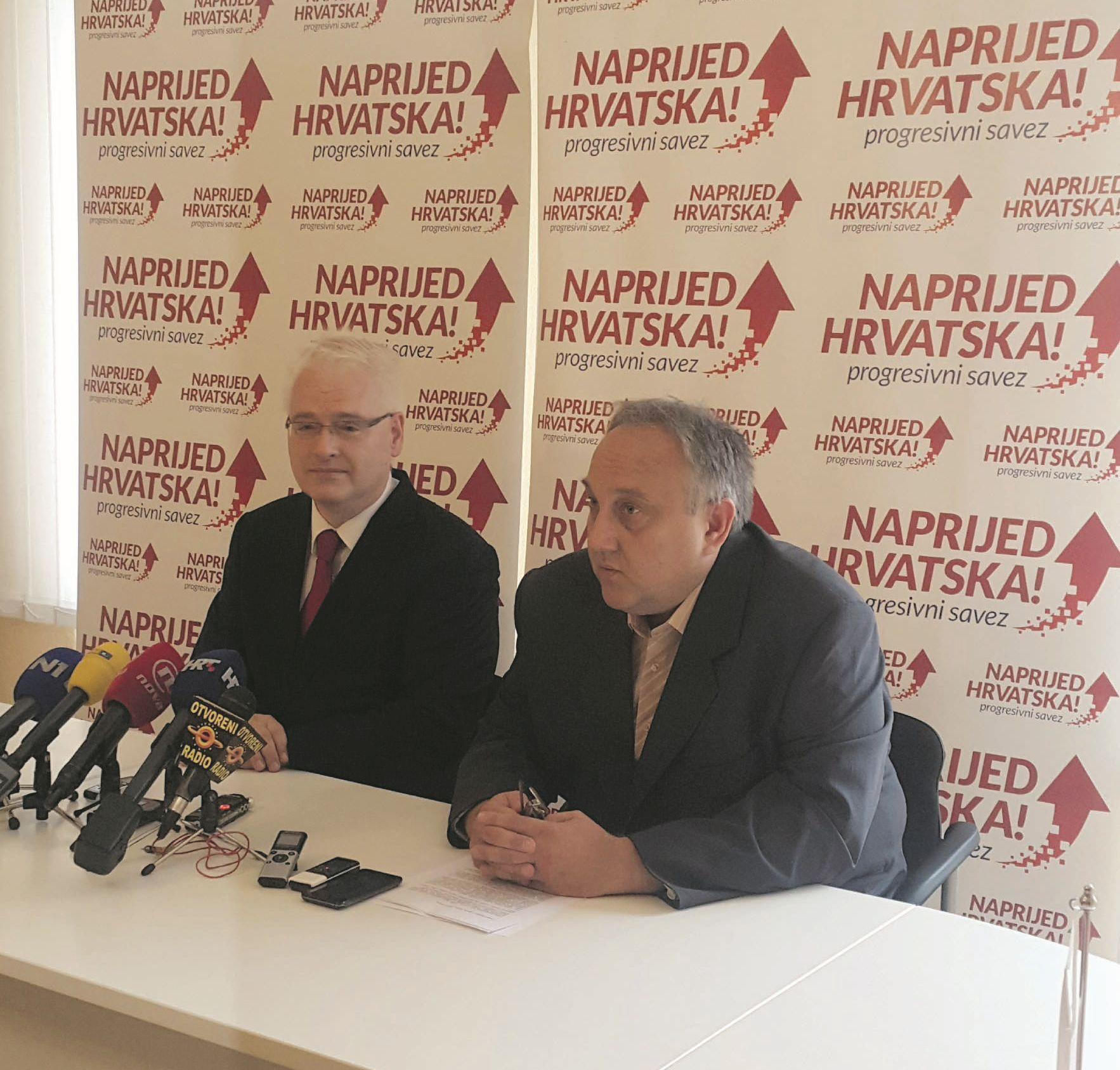 Naprijed Hrvatska demantira SDP