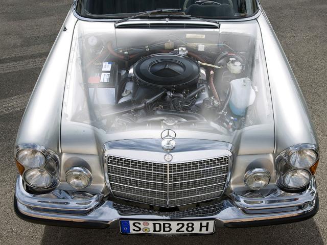 Mercedes 280SE Cabriolet iz 1968.