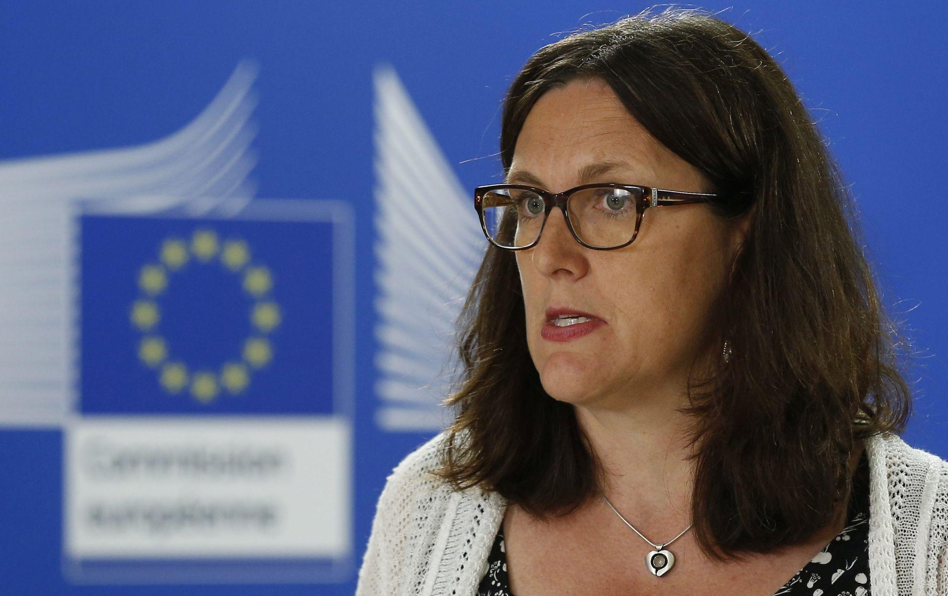 Malmstroem: EU će učiniti transparentnijim pregovore o TTIP-u