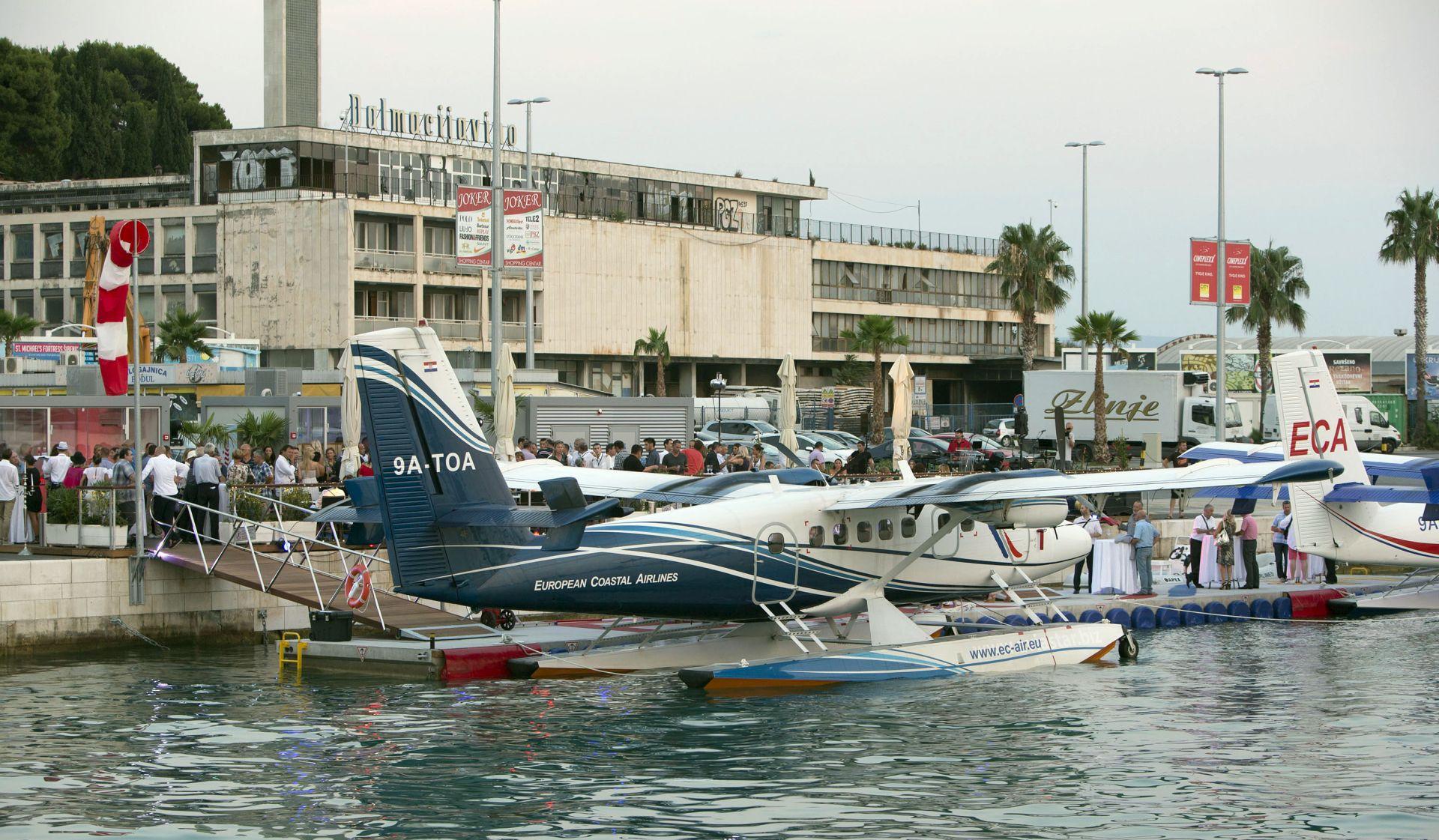 U splitskoj Gradskoj luci otvoreno hidroavionsko pristanište