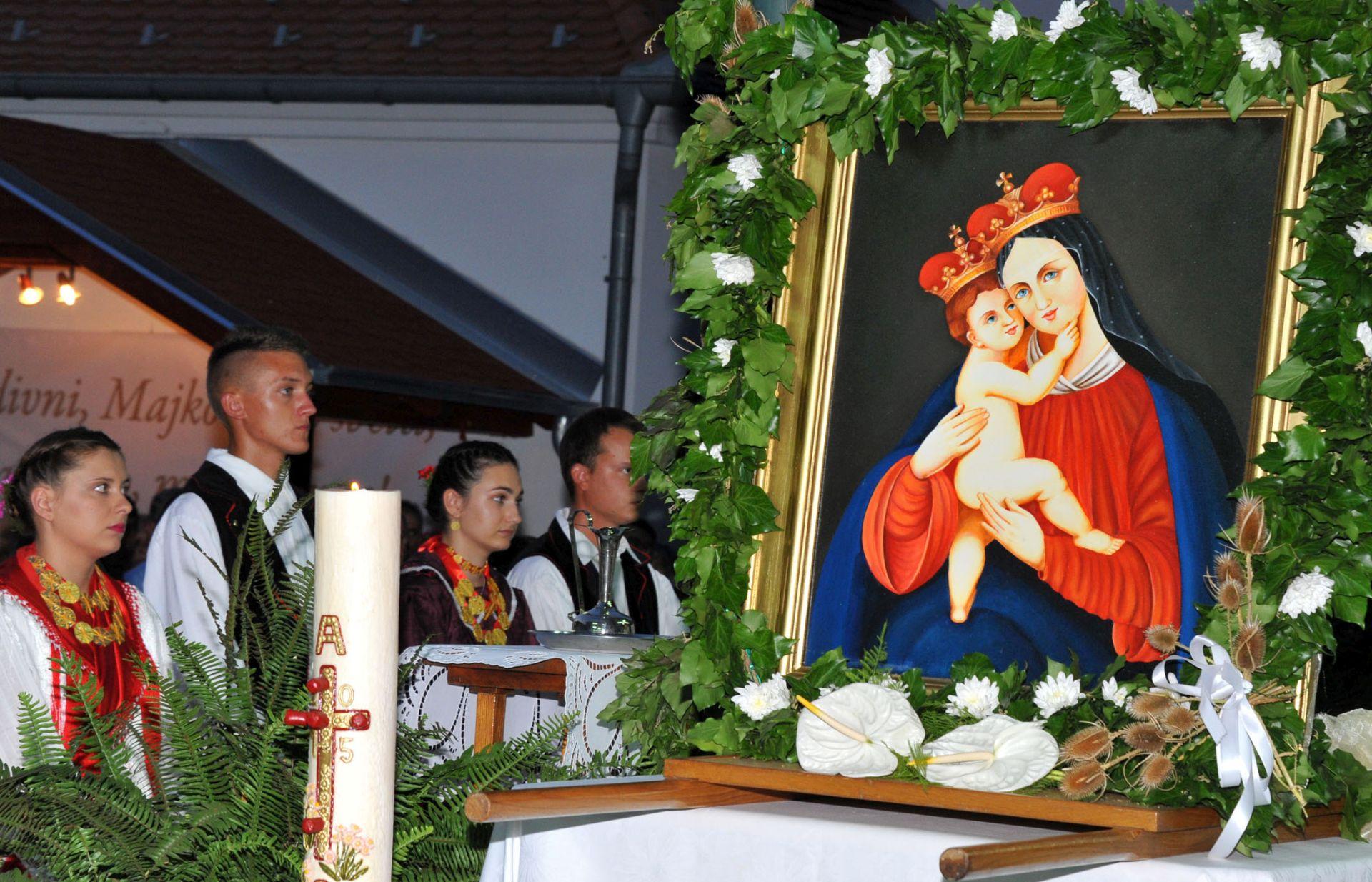 FOTO: 150. obljetnica svetiša Gospe na Vodici