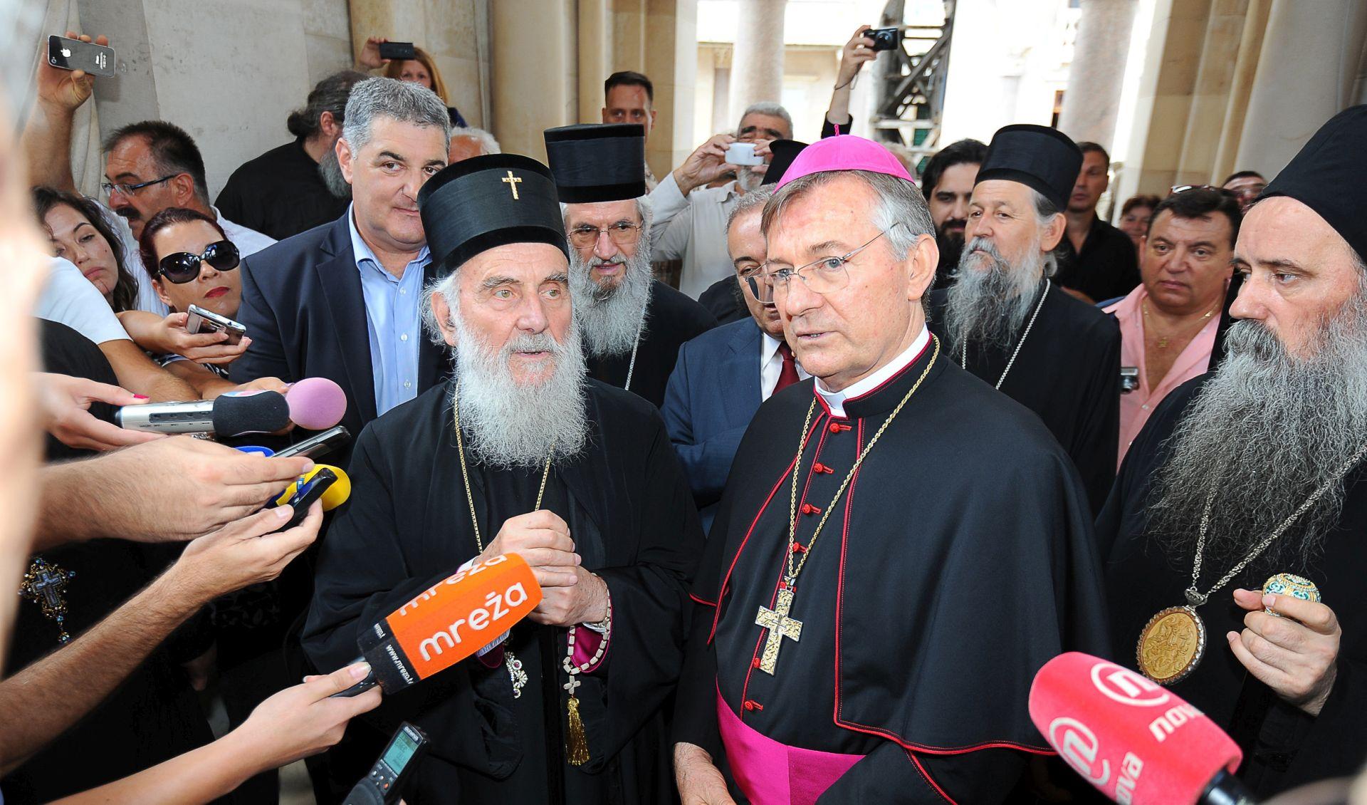 Nadbiskup Barišić i patrijarh Irinej za jedinstvo kršćana