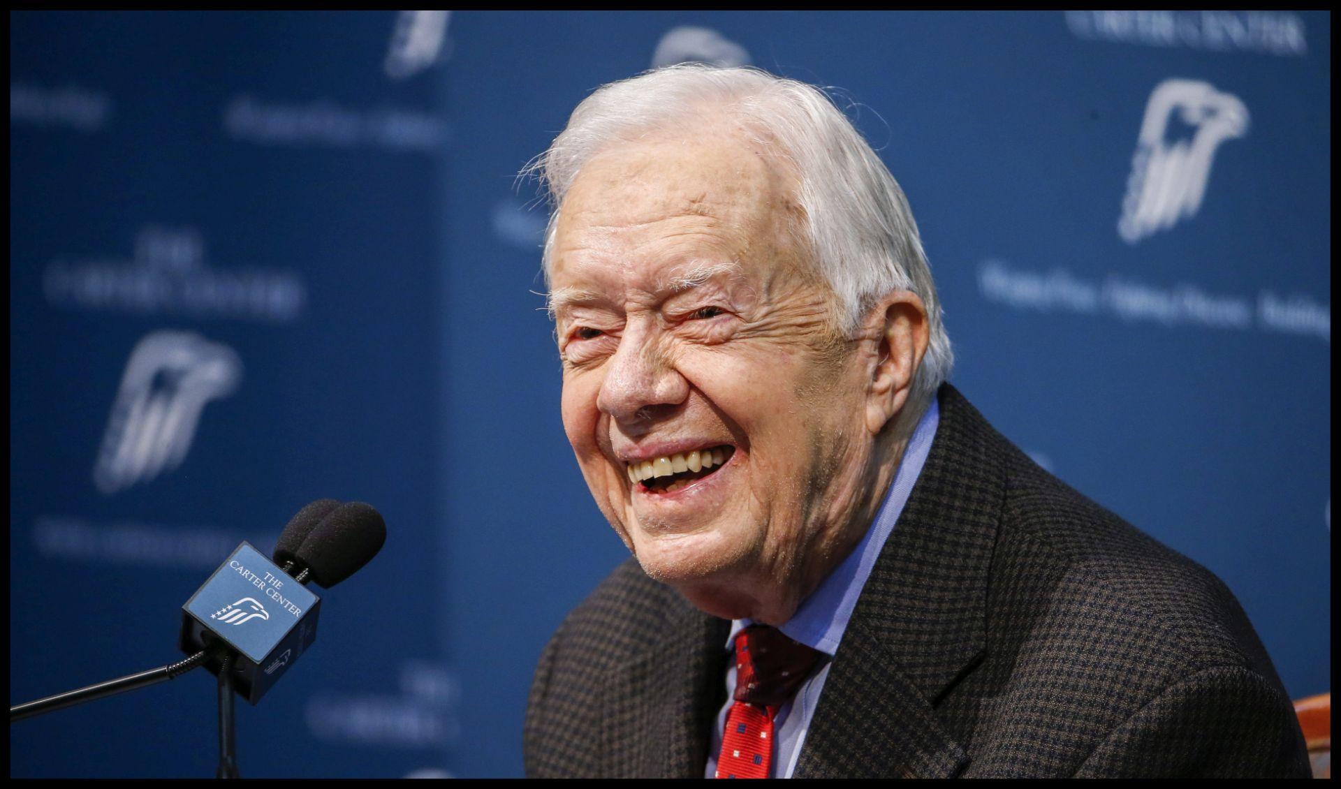 Bivši američki predsjednik Jimmy Carter pobijedio rak