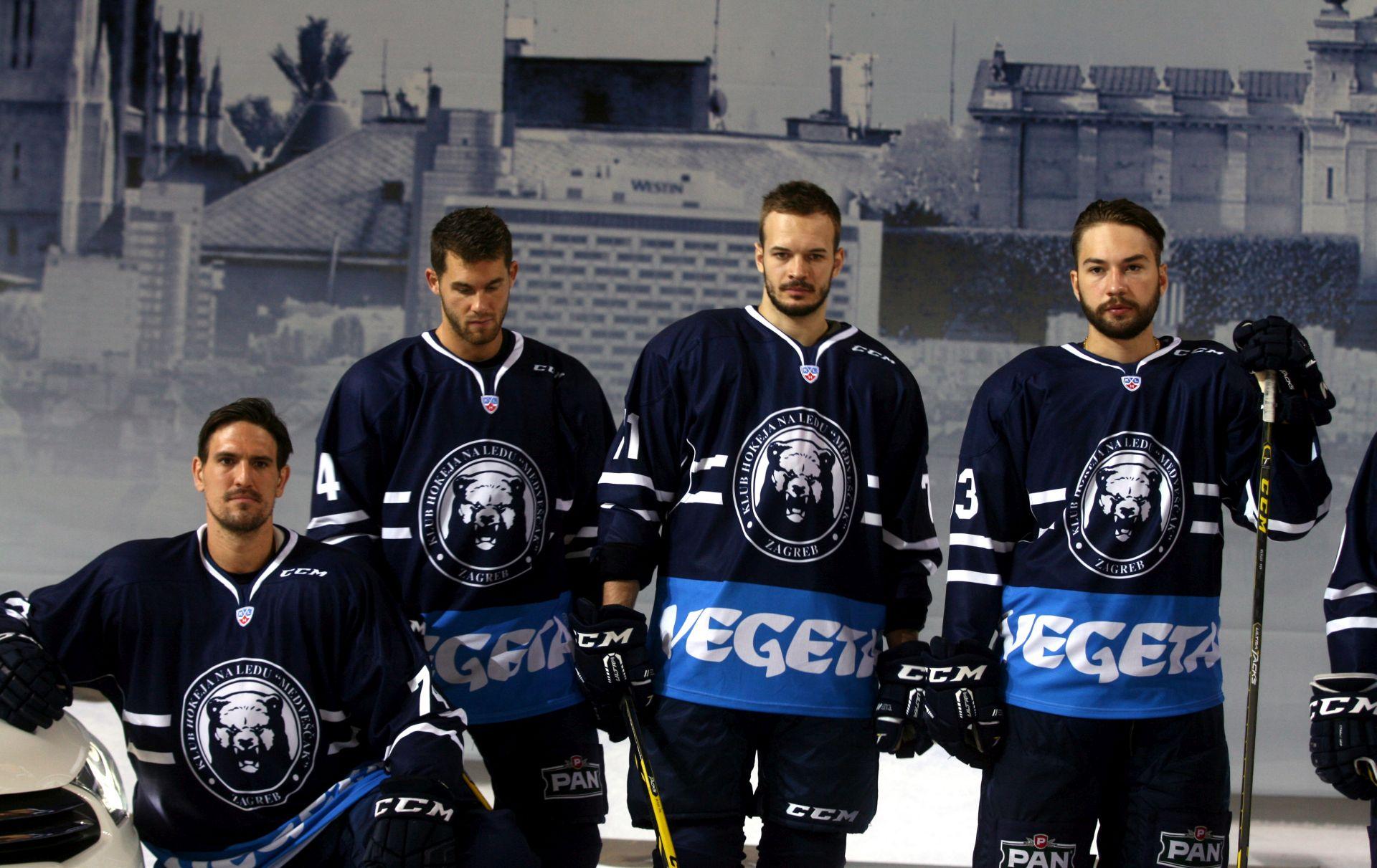 FOTO: Medveščak predstavio momčad za novu KHL sezonu: Cilj je playoff