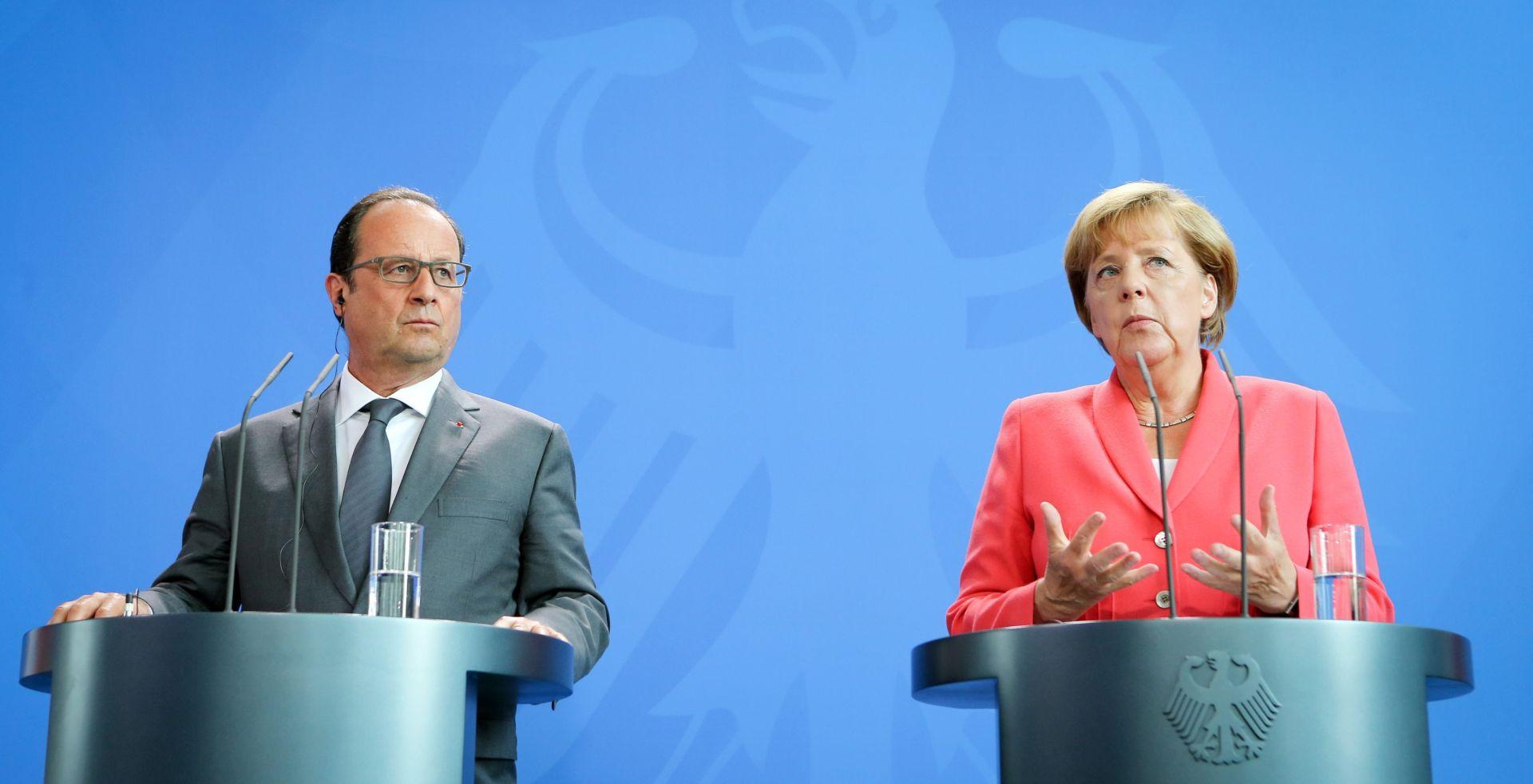 Njemački i francuski čelnici kažu da će Kina stabilizirati gospodarstvo