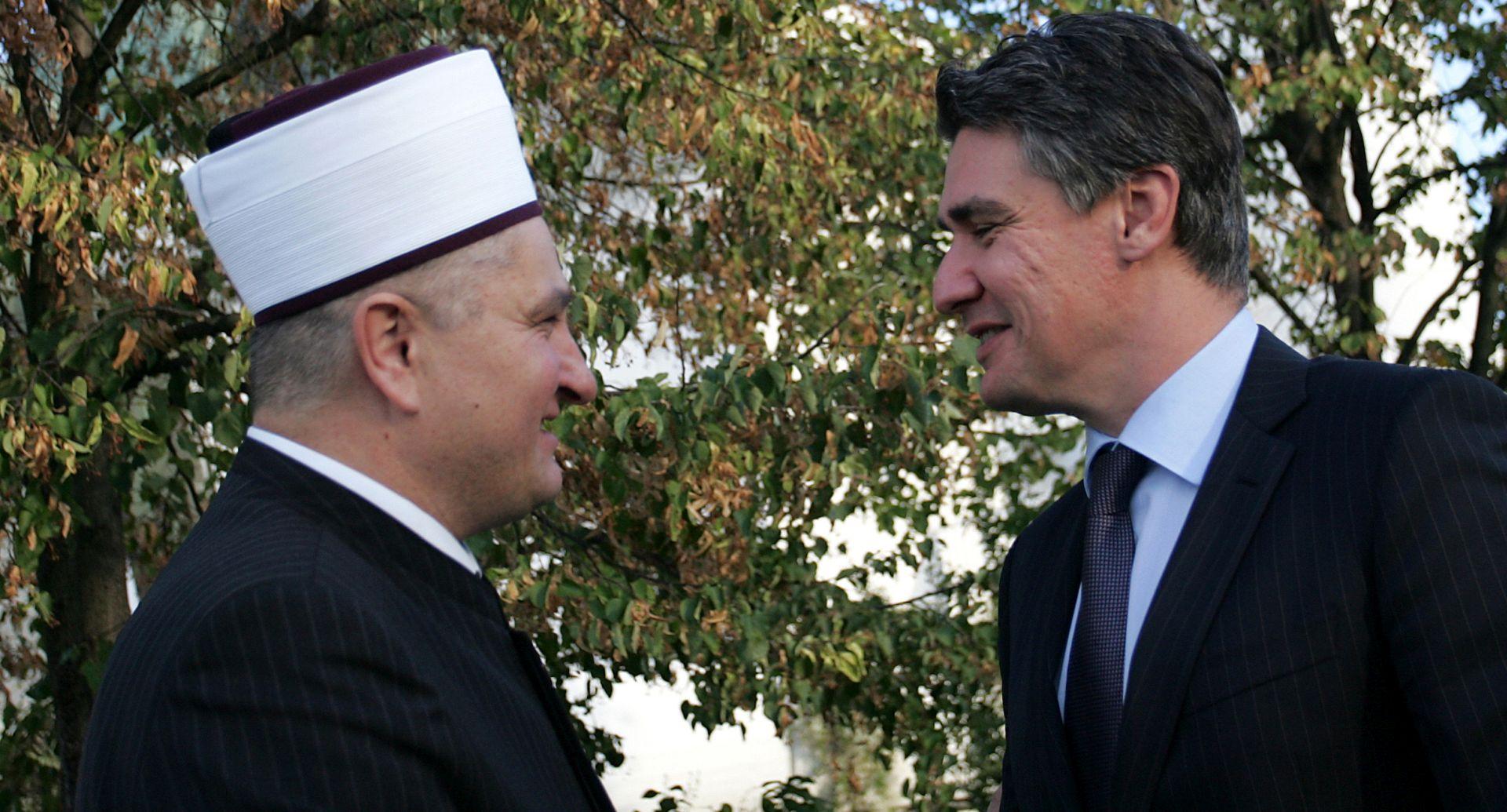 Milanović primio muftiju Aziza ef. Hasanovića