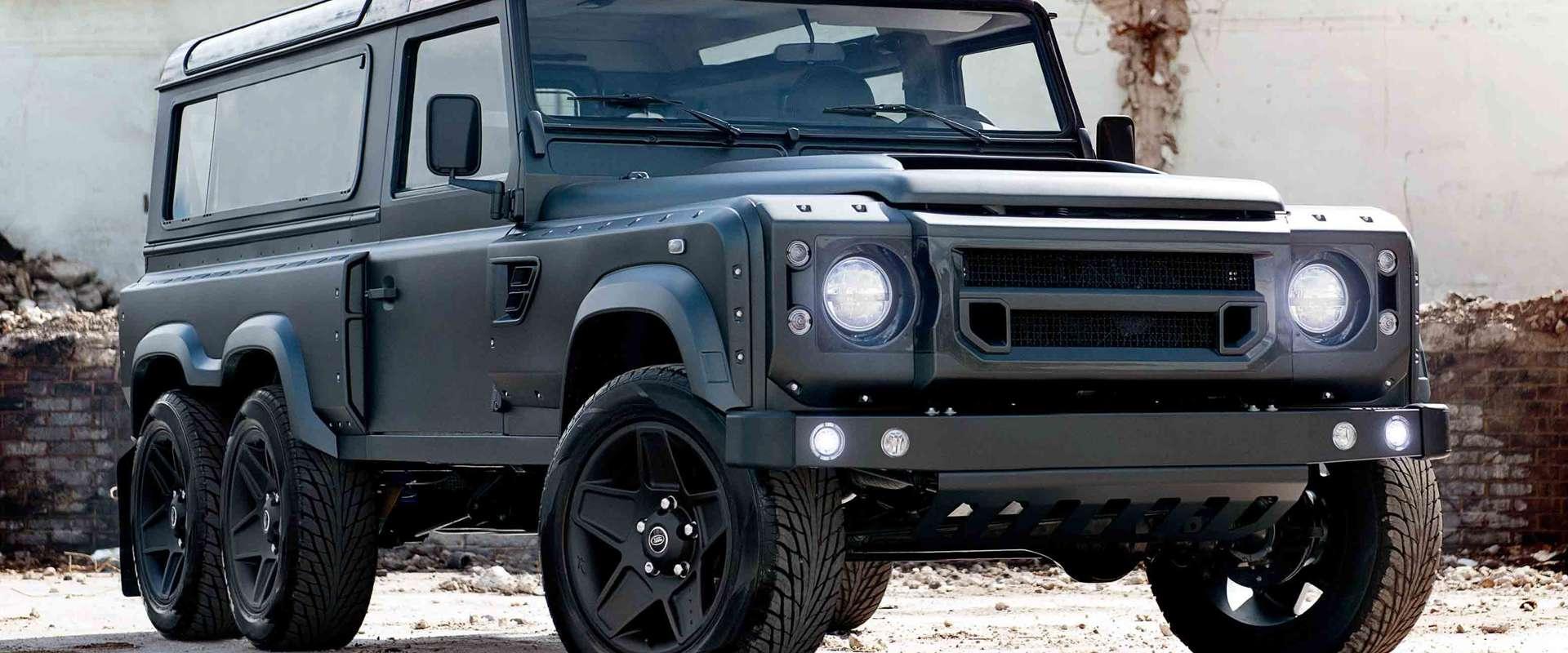 PREDSTAVLJAMO Land Rover 6×6